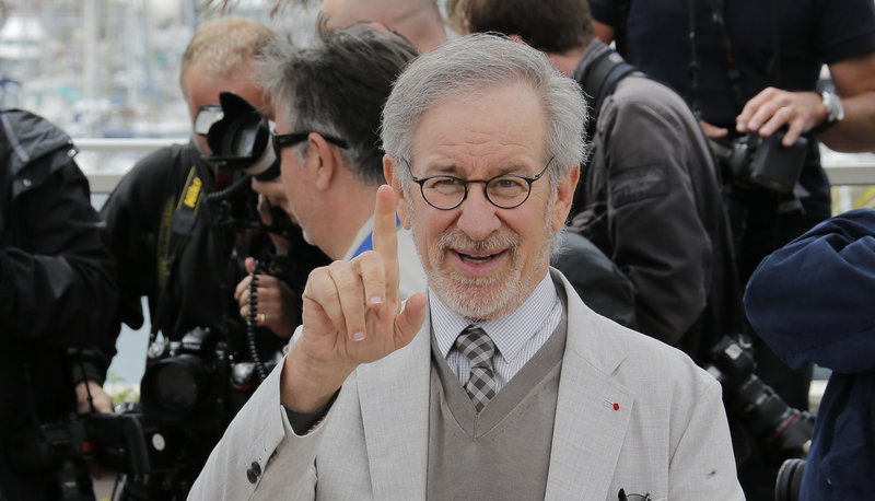 Director Steven Spielberg is serving as jury president at the Cannes Film Festival.