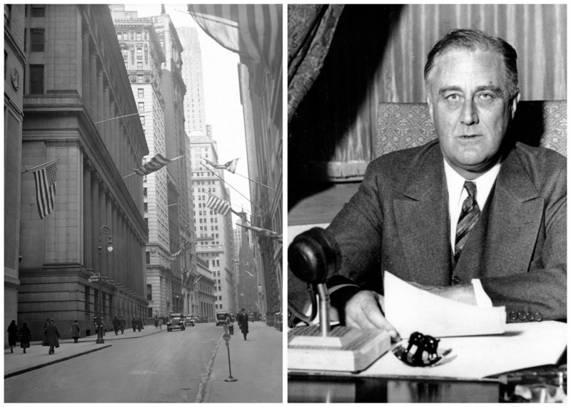 President Franklin D. Roosevelt's punitive tax audits were well documented.