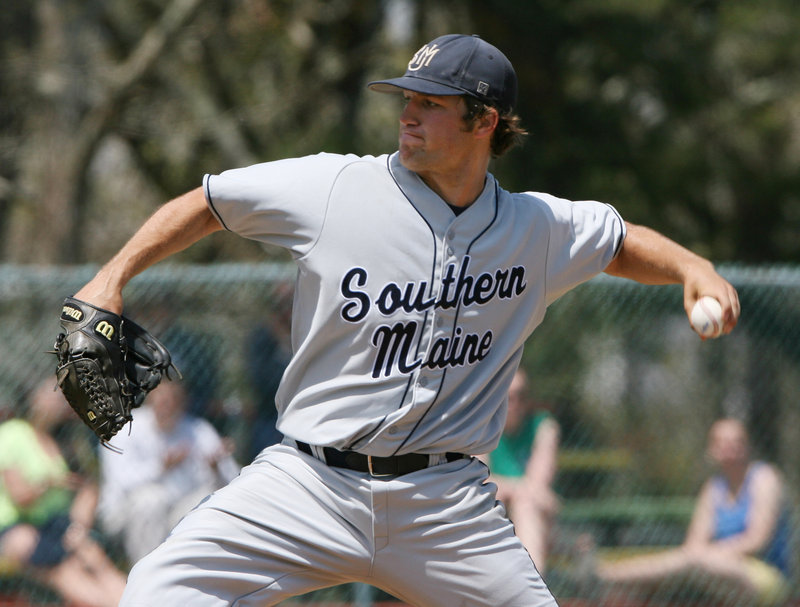Lefty Logan Carman was all but untouchable, pitching two shutouts in five days as USM proved to be the class of New England during the Division III regional tournament in Harwich, Mass.