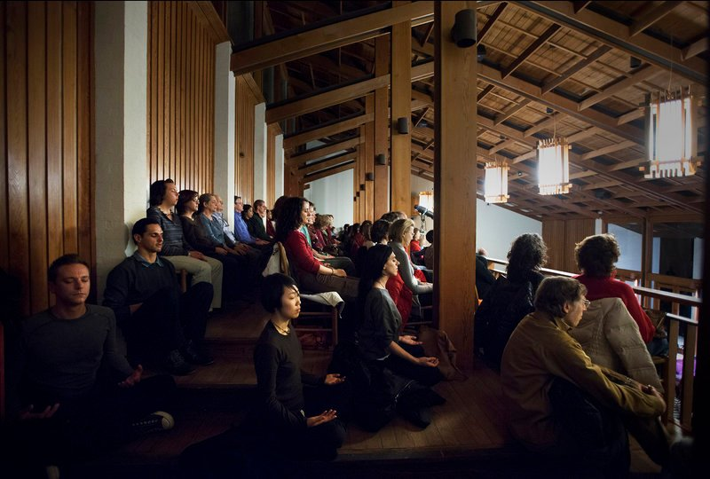 Tara Brach's weekly meditation classes draw hundreds of people to the River Road Unitarian Church in Bethesda, Md. Her popular talks are also downloaded nearly 200,000 times each month by people in more than 150 countries.