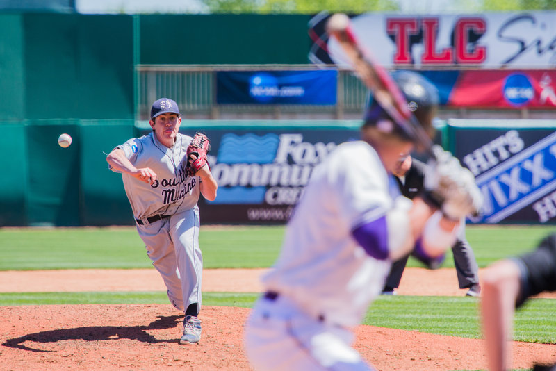 Andrew Richards, as he did in the regional tournament, continued to impress in relief for USM. He entered in the sixth inning and allowed no runs, keeping the Huskies in the game before their run in the 10th won it.