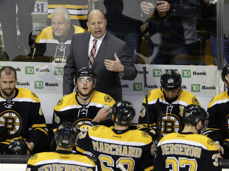 "Bruins Coach Claude Julien will evaluate ""everything"" as his team prepares for the Penguins in the East finals."
