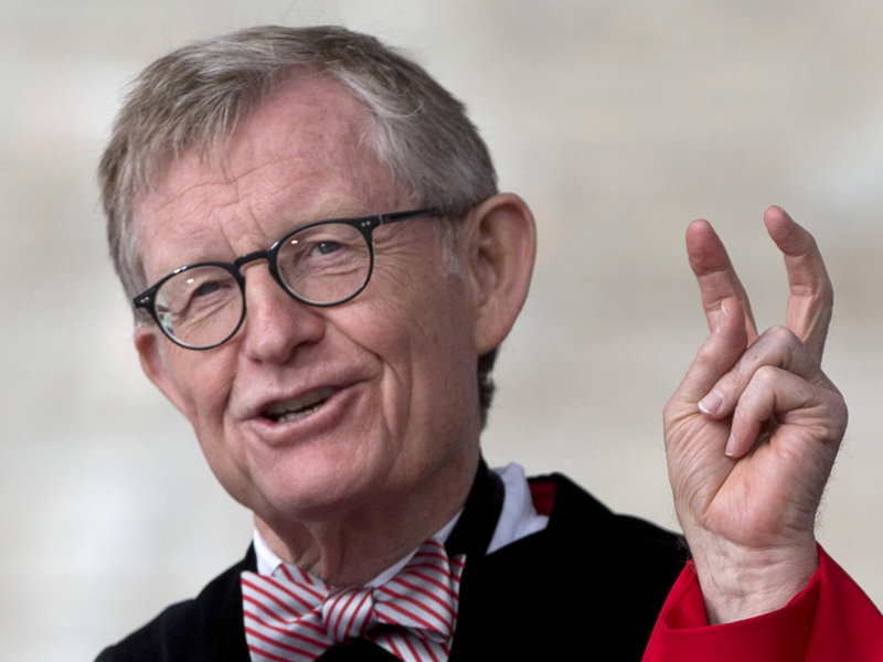 "Gordon Gee said of the priests who run the University of Notre Dame, ""The fathers are holy on Sunday, and they're holy hell on the rest of the week."""