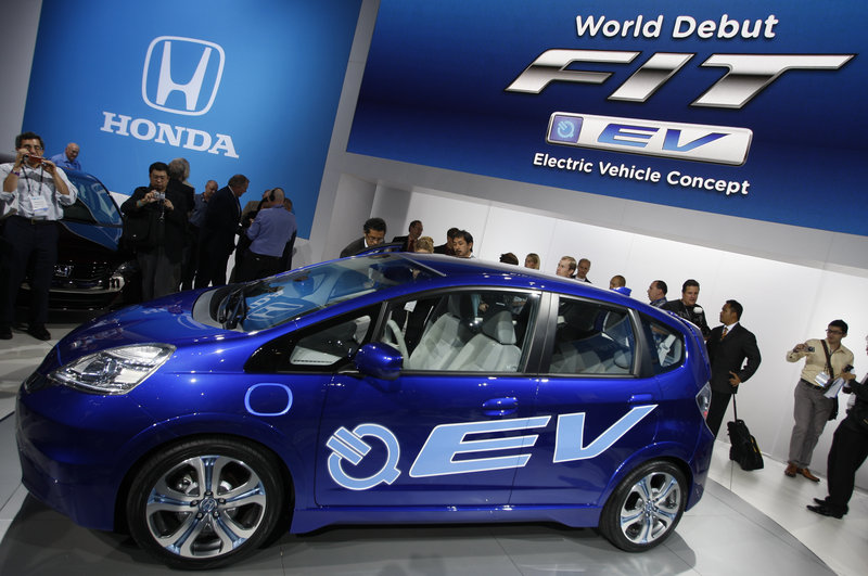 The Honda has slashed the lease costs on its FIT EV and is offering more favorable terms as automakers attempt to attract consumers.