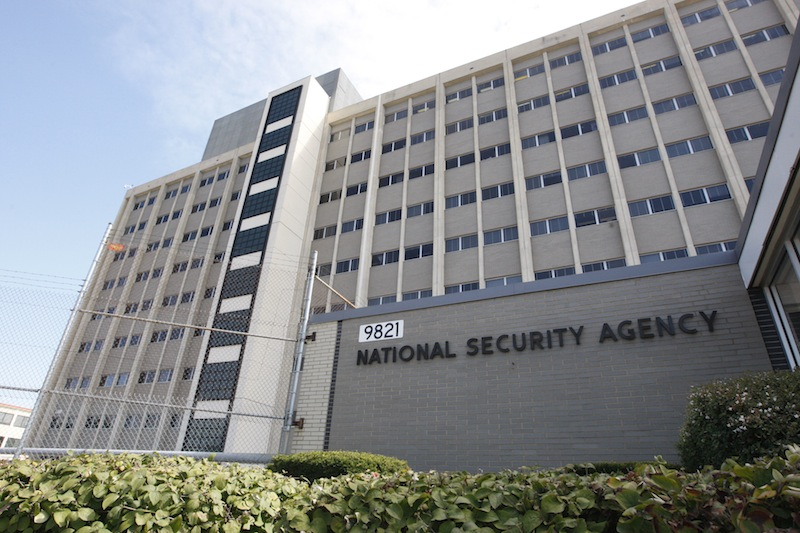This Sept. 19, 2007, file photo, shows the National Security Agency building at Fort Meade, Md. (AP Photo/Charles Dharapak, File)