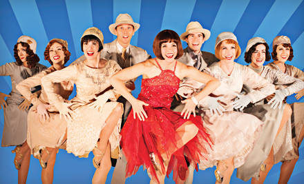 """""""If you are looking for song, dance, frolic and fun, then """"Thoroughly Modern Millie"""" is right up your alley,"""" says actor Burke Moses, who plays the role of Trevor Graydon, """"a complete idiot in every way."""""""
