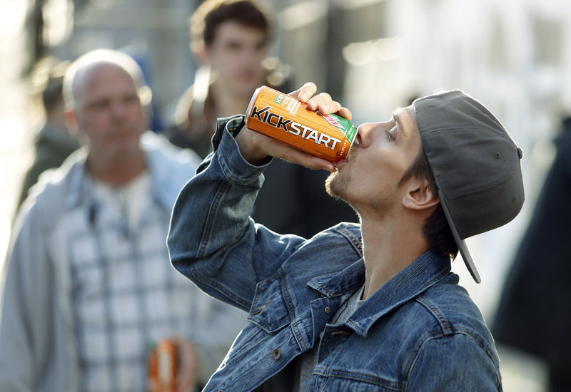Actor Norbert Torok makes a commercial earlier this year for a new PepsiCo product called Kickstart, a carbonated drink that is part juice with Mountain Dew flavor and a jolt of caffeine. Caffeinated drinks have proliferated in recent years, but were just the start. Food and snack makers are also rolling out new products laced with caffeine.