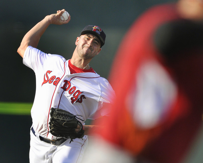 Brandon Workman turned in his longest outing in a Sea Dogs uniform, giving up just three hits in eight innings Saturday, but wound up with a no-decision as Altoona won, 2-1.