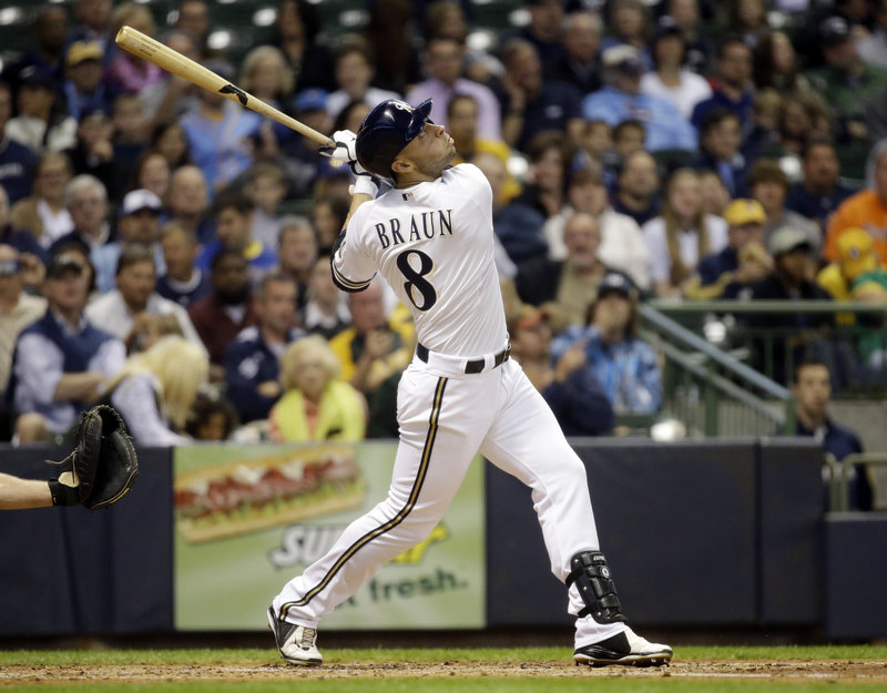 Milwaukee's Ryan Braun, above, and the Yankees' Alex Rodriguez are among the players linked to performance-enhancing drugs.