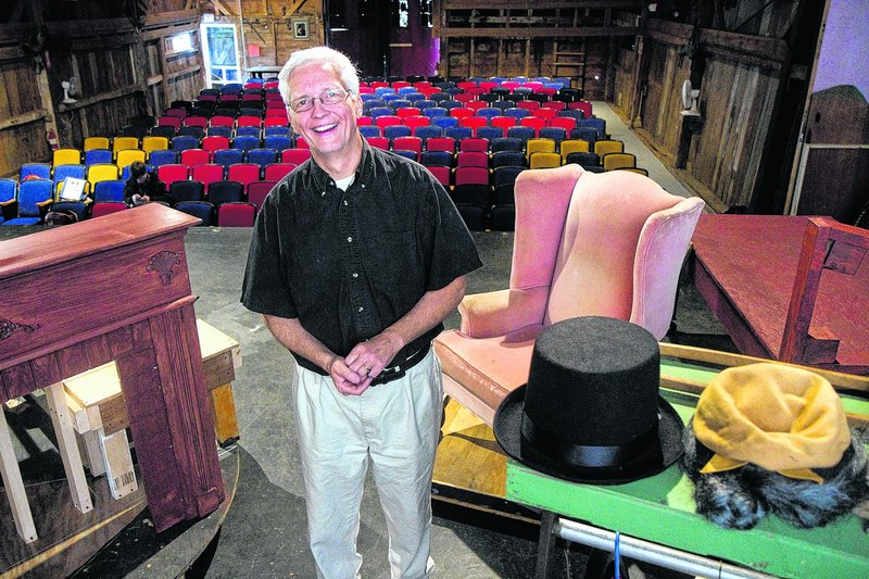 Michael Guptill, below, took over the Hackmatack Playhouse from its founder – his father, S. Carlton Guptill.