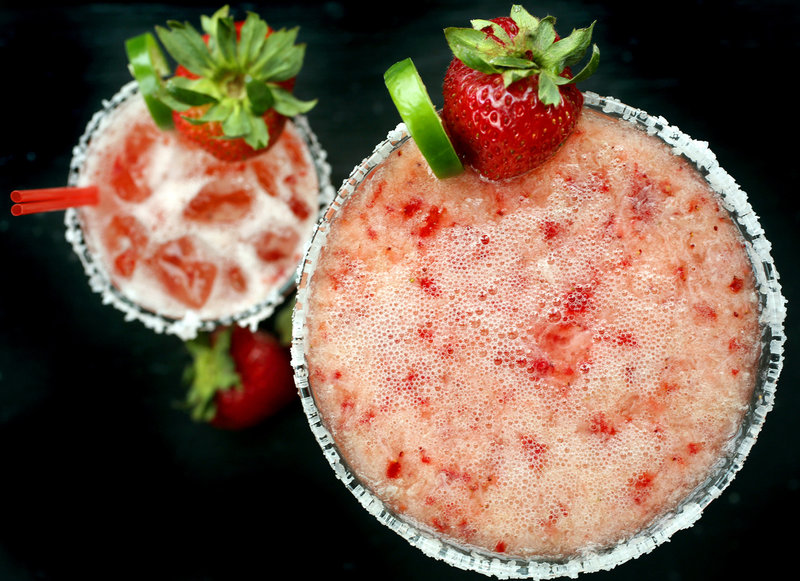 Zapoteca in Portland has adapted the strawberry margarita with its own twist in its Ramorita.