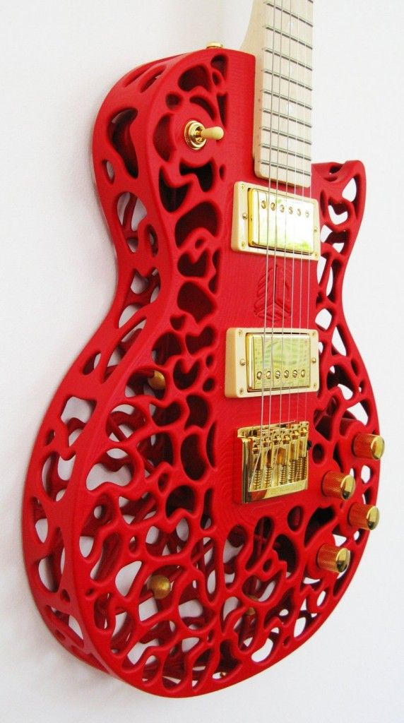 Olaf Diegel, a New Zealand engineer, has created a market for his functioning electric guitars made by using 3-D printing.
