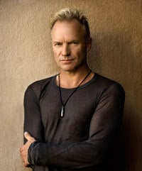 Sting plays a show in Bangor on Thursday.