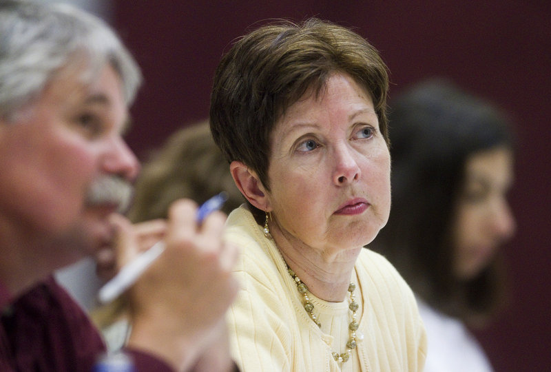 Under the leadership of Patricia Aho, above, a former lobbyist for the chemical and pharmaceutical industries, the Maine Department of Environmental Protection has made decisions that favor Aho's former clients at the expense of the residents of Maine.