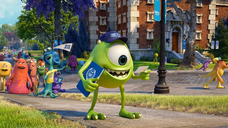 "Billy Crystal gives voice to Mike in ""Monsters University."""