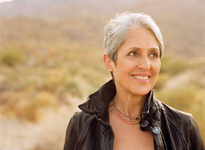 Joan Baez will be performing at the State Theatre at 8 p.m. Wednesday.
