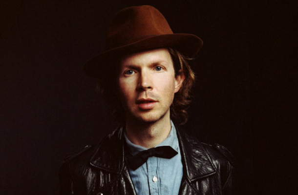 Beck performs at the State Theatre in Portland on Aug. 1.