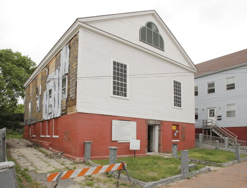 The Abyssinian Meeting House on Portland's Munjoy Hill has been a church, an abolitionist lecture hall and a safe house for runaway slaves.