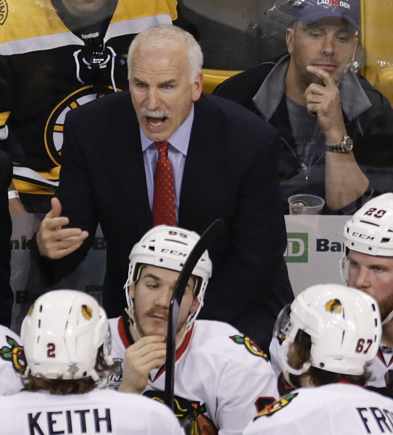 Chicago's Joel Quenneville knew what he was doing when he reunited Jonathan Toews and Patrick Kane in a must-win Game 4.