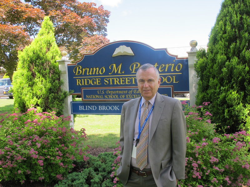 William Stark, superintendent of the Blind Brook-Rye school district, is seeking students from outside the district who would pay about $20,000 a year to attend the public schools.
