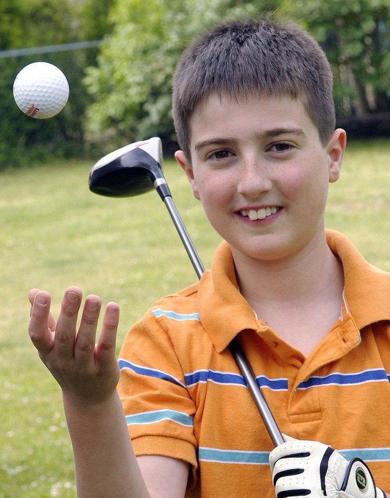 Keith Mello is a 12-year-old golfer from Somerset, Mass. The left side of his heart is underdeveloped, but it hasn't stopped him from playing sports he enjoys. Mello will play in a charity golf tournament with three members of the Barrington High School golf team starting Sunday.