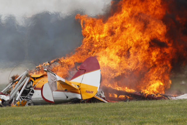 The fiery crash killed the pilot and Wicker instantly, authorities said.