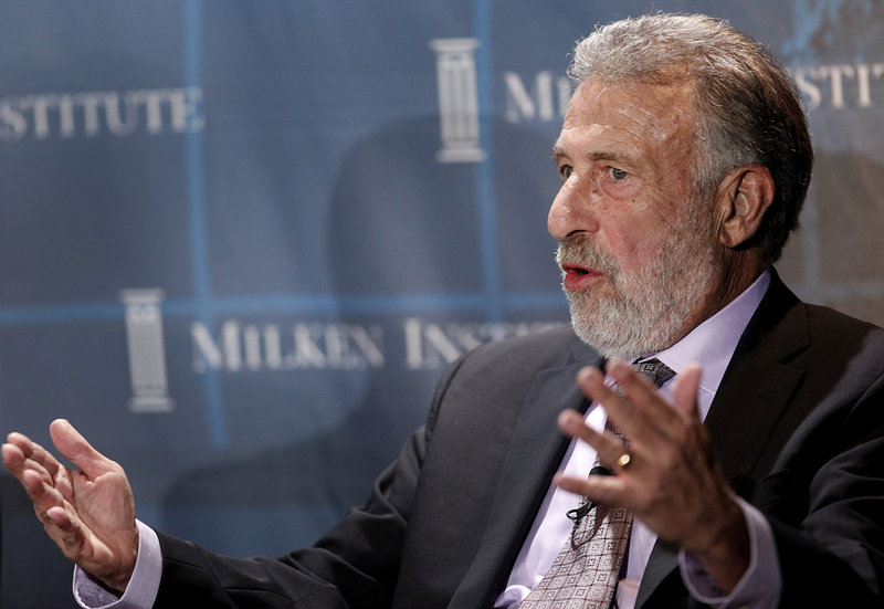 On Tuesday, the Facebook page of Men's Wearhouse was full of comments criticizing the company for ousting founder George Zimmer, above.