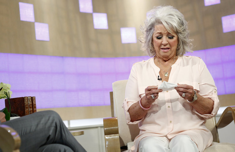 "Celebrity chef Paula Deen appears Wednesday on ""Today,"" saying she recalled using a racial slur once."