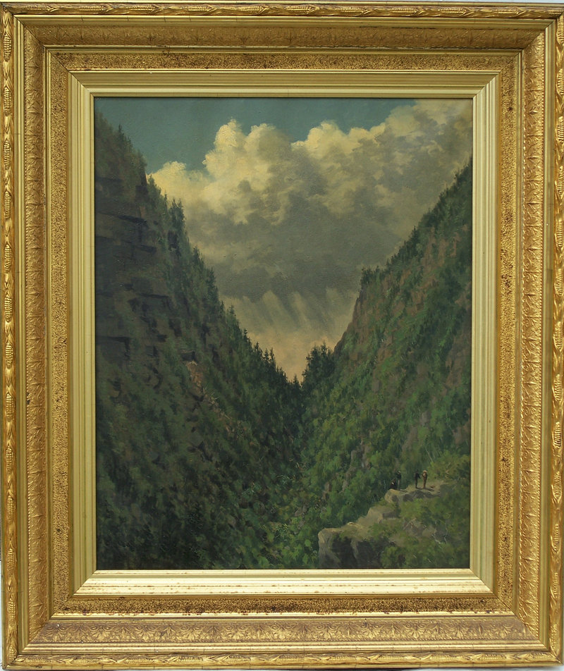 """Mahoosuc Notch"" by George Frederick Morse."