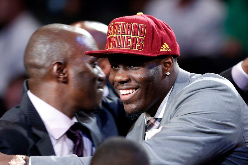 Anthony Bennett of UNLV figured to go early in the NBA draft, but at No. 1? It was enough to make a guy smile.