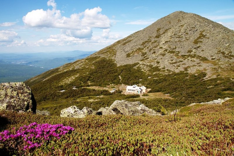 Tucked in a col almost a mile high between two Presidential Range peaks, the Madison Spring Hut offers hikers comfy, friendly lodging for the night with a couple of good meals at an affordable price.
