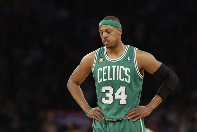 Paul Pierce always seemed likely to spend his entire career with the Boston Celtics, but with the team desperately needing to rebuild, his uniform will sport a different color next season.