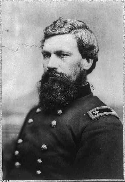Maj. Gen. Oliver Otis Howard (1830-1909) of Leeds sent a brigade to occupy Cemetery Hill on the first day of the Battle of Gettysburg. It provided the Union Army with a superior defensive position during the conflict.