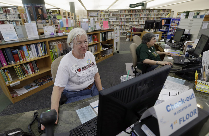 Librarians like Joan Limbert of Spring, Texas, will play a key role in helping Americans get more information about health care plans offered under the Affordable Care Act. Some libraries already have home pages linked to HealthCare.gov while others might decide to set aside some computers for people seeking health insurance.