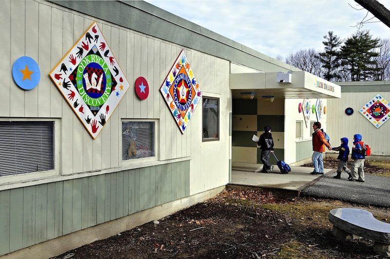 Portland Superintdnet 'Manny' Caulk recommends spending $90,000 of extra funds to reinstate assistant principal hours at Hall, Longfellow and Ocean Avenue schools. Above, a file photo of Hall Elementary.