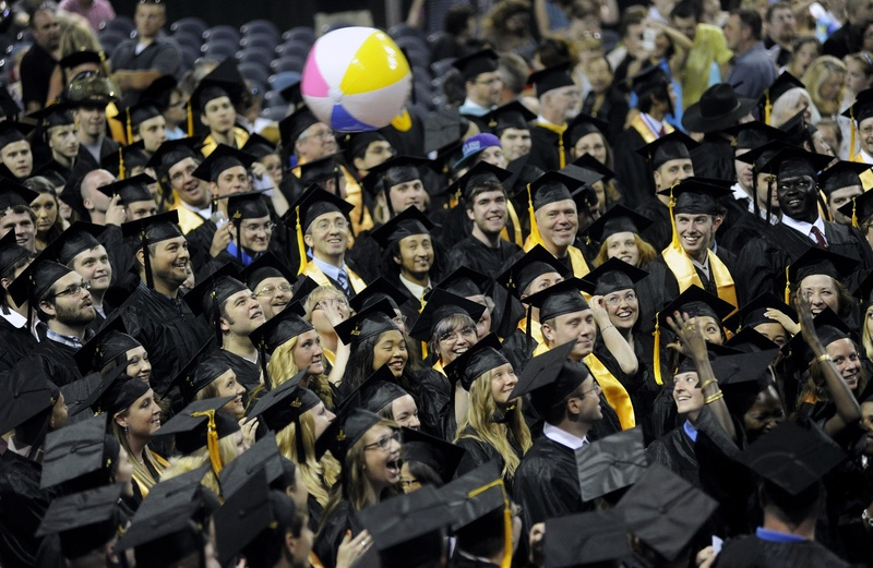 This year's college graduates entered the workforce with an average of $26,000 in debt from government loans.