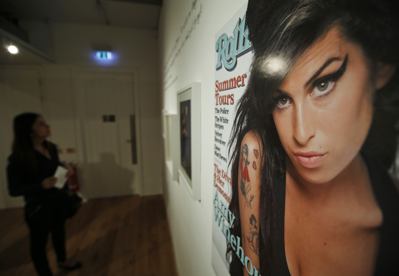 """An exhibition titled """"Amy Winehouse: A Family Portrait"""" in London's Jewish Museum aims to reveal an intimate side of the late soul diva."""