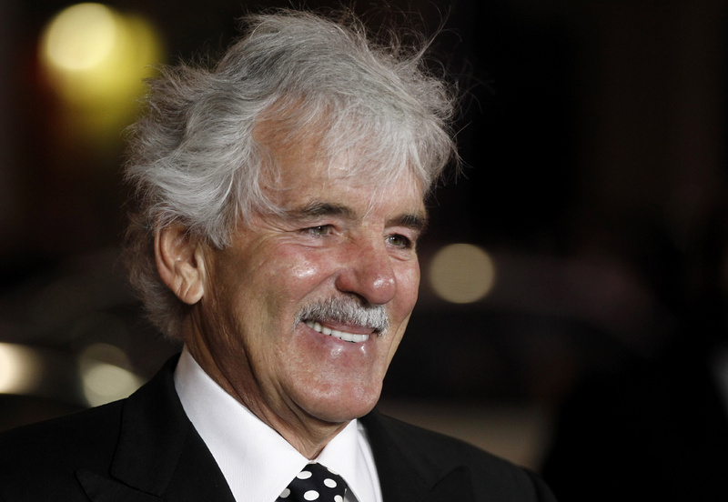 """Dennis Farina arrives at the premiere for the HBO television series """"Luck"""" in Los Angeles last year. Farina died Monday after suffering a blood clot in his lung. He was 69. Horizontal,Red Carpet Event"""