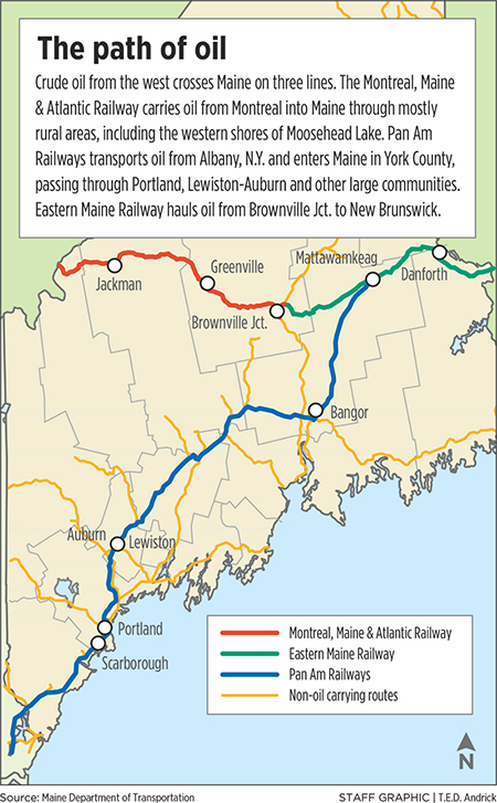 Is Maine On Top Of Oilbyrail Risks  The Portland Press