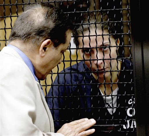 Saudi princess Meshael Alayban listens to an interpreter during her scheduled appearance in court Thursday in Santa Ana, Calif. Alayban appeared in Orange County Superior Court Thursday but her arraignment was delayed to July 29 at the request of her attorney.