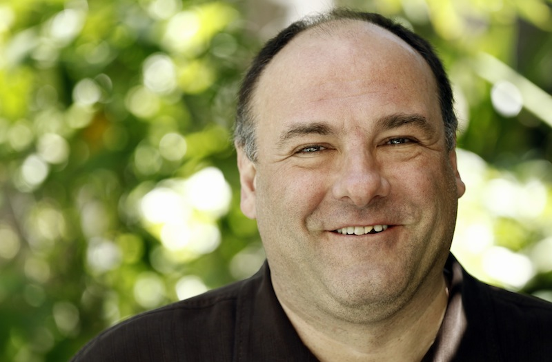 This April 11, 2011 file photo shows actor James Gandolfini in Beverly Hills, Calif. HBO says it's unimaginable that a drama pilot,