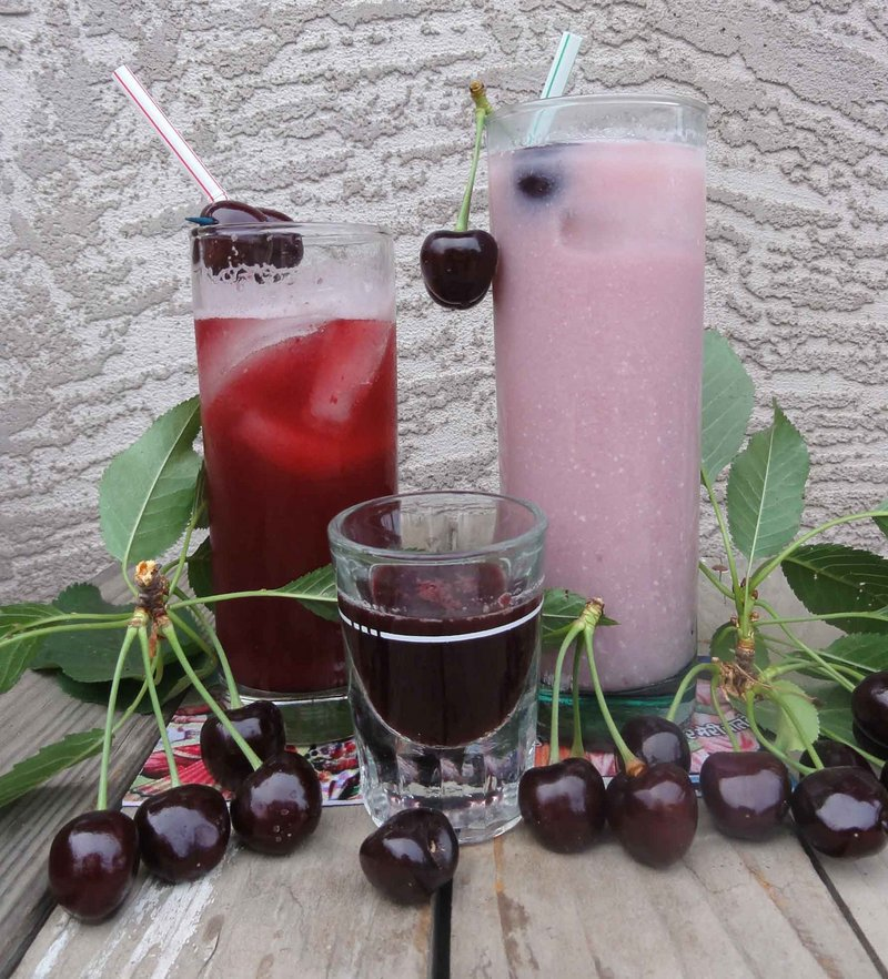 Cherry syrup can lead to a variety of pleasing ends in a summer beverage.