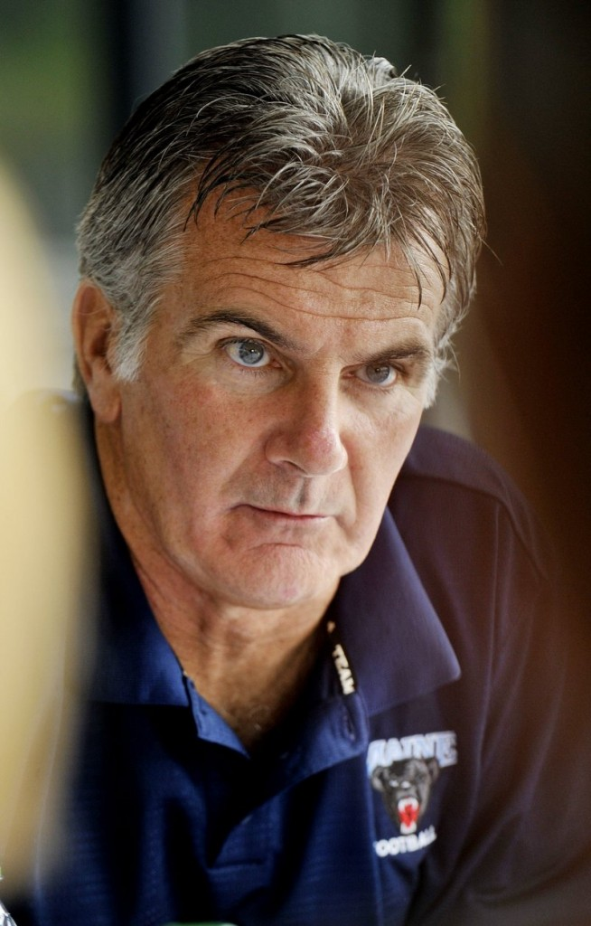 Jack Cosgrove is the football coach at UMaine.