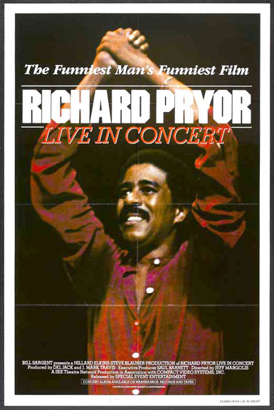 """Richard Pryor Live in Concert"" captures the comic at his apex."