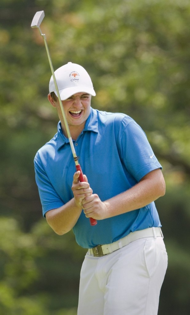 Seth Sweet held off late rallies to win last year's Amateur at Sunday River Golf Club.