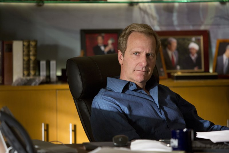 """Jeff Daniels plays cable new anchor Will McAvoy in """"The Newsroom,"""" which begins its second season on HBO Sunday night."""