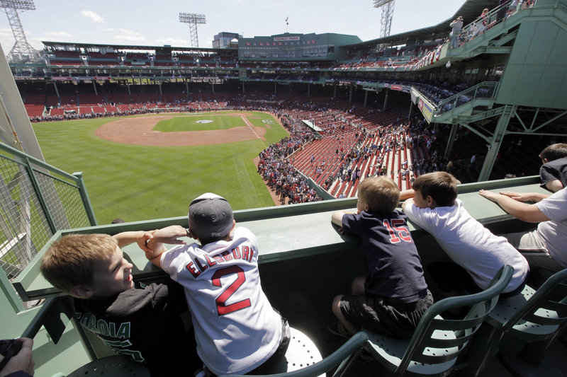 The pipeline from Portland and Pawtucket feeds the faithful in Boston. Who will fans from the top of the Green Monster and all around Fenway Park be watching over the next few years?