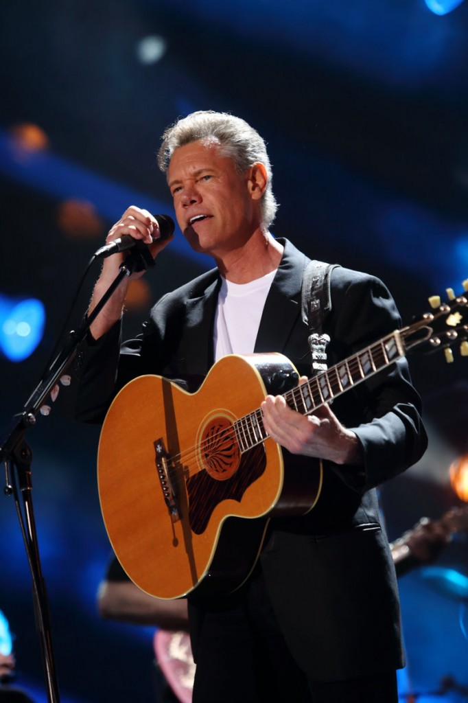 Country singer Randy Travis appears healthy performing in Nashville, Tenn., June 7.