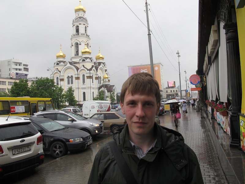 Stepan Chernogubov was beaten up for trying to document pollution in Russia this spring.