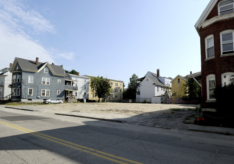 The May 6 fire destroyed 114 and 118 Bartlett St.